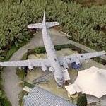Two KC-97 Stratotankers as disco (Bing Maps)