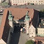 Landhaus (Regional Parliament ) Klagenfurt (Birds Eye)