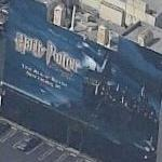 Harry Potter Movie ad mural