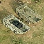 LARC-60 Amphibious Vehicles (Bing Maps)