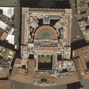 Chamber of Deputies of Italy (Bing Maps)