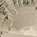 Roman Theaters Lyon (Bing Maps)
