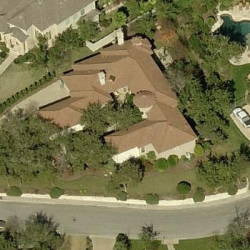 Doug Moe's House In San Antonio, TX (Bing Maps