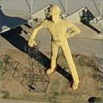 Golden Driller (Birds Eye)