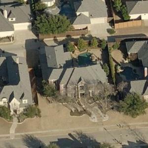 Tony Dorsett's House (former) (Birds Eye)