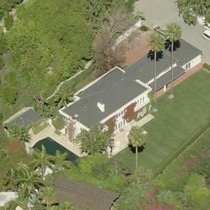 Andrew Hauptman & Ellen Bronfman's House (Bing Maps)