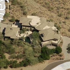 Michael Bidwill's House (Bing Maps)