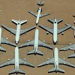 Used Airliner Lot (Birds Eye)