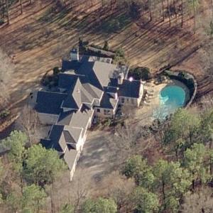 Mark Richt's House (former) (Birds Eye)