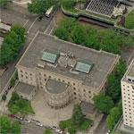 Portland Oregon City Hall (Birds Eye)