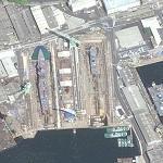 Imperial Japanese navy drydock (Birds Eye)