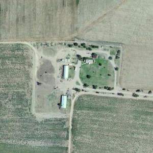 Clutter Farm of Capote's 'In Cold Blood' notoriety (Bing Maps)