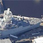 USS Ponce (LPD-15) Amphibious Transport Dock (Birds Eye)