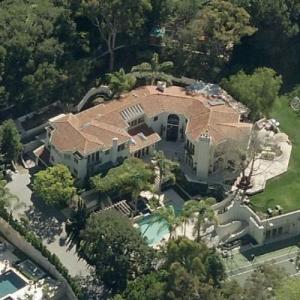 Arnold Schwarzenegger's House (former) (Birds Eye)