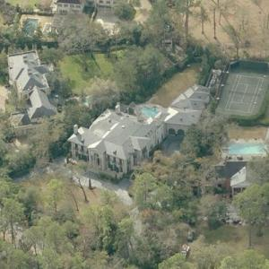 Joe Jamail's House (Bing Maps)