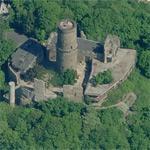 Godesburg Castle with Michaelskapelle (Birds Eye)