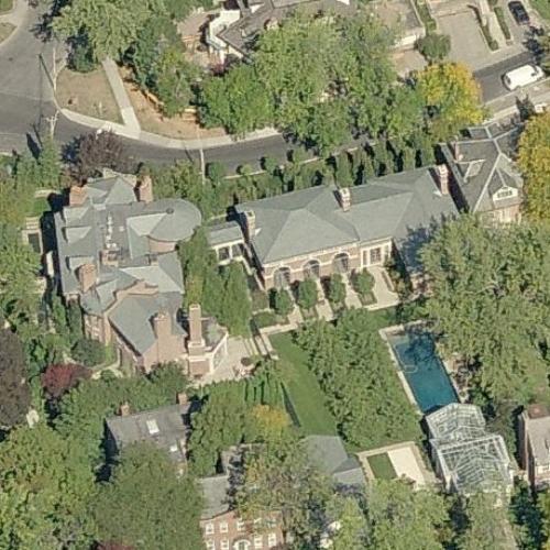 Gerald Schwartz's House in Toronto, Canada - Virtual Globetrotting