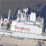 USS Laramie (T-AO-203) Kaiser Class Oiler (Birds Eye)