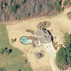 Zac Brown's house (Birds Eye)