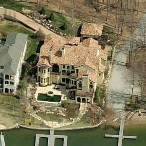 George Hill's House (Bing Maps)