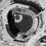 Milwaukee County Stadium (Demolished in 2001) (Bing Maps)
