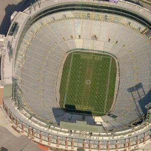 Lambeau Field (Birds Eye)