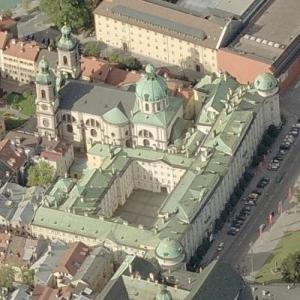 Imperial Hofburg Innsbruck (Birds Eye)