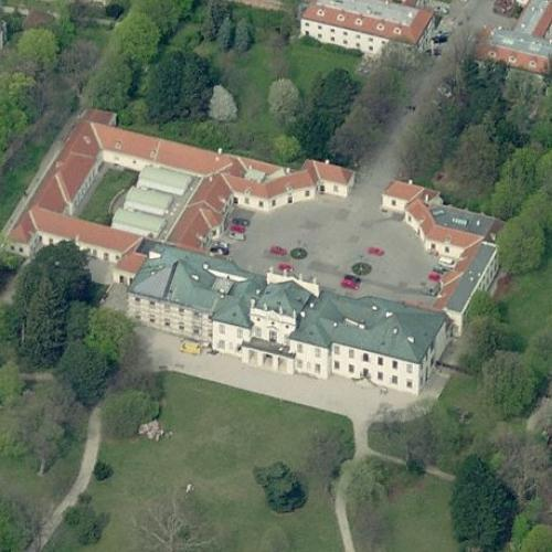 Hetzendorf Castle (Birds Eye)