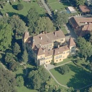Hallerschloss Castle (Birds Eye)