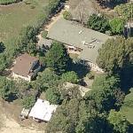 John Clark Gable's House (Former) (Birds Eye)
