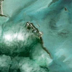 "Tim McGraw & Faith Hill's ""Goat Cay Island"" (Bing Maps)"