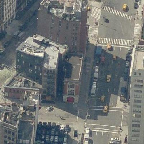 40 Central Park South Nyc: Ghostbuster Firehouse In New York, NY (Bing Maps