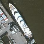 Superyacht Limitless (Bing Maps)