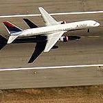 Airplane Taking Off From SeaTac (Birds Eye)