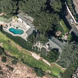 Chris Evans' House (Bing Maps)