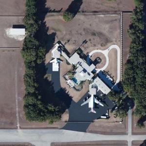John Travolta & Kelly Preston's House (Bing Maps)