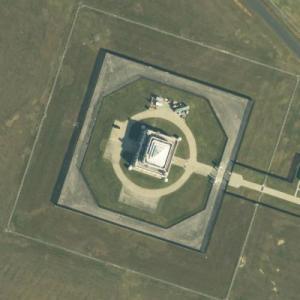 Fort Knox, U.S. Bullion Depository (Birds Eye)