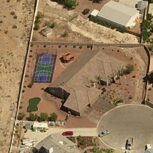 Corey Harrison's House (Pawn Stars) (Bing Maps)