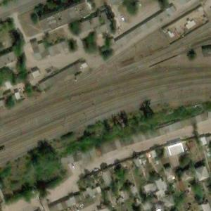 Belaya Kalitva train explosion site (May 9, 2013) (Bing Maps)