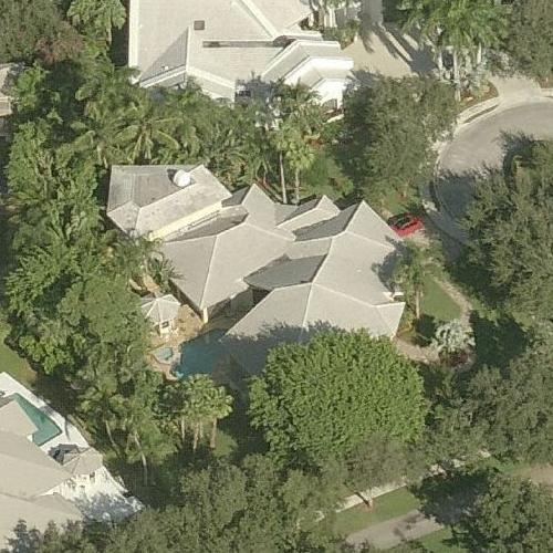 Ariana Grande's house (Birds Eye)