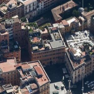 Valentino Garavani's House (Bing Maps)