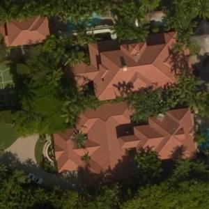 Gloria Estefan's House (Bing Maps)