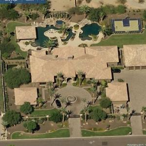 Larry Fitzgerald's House (former) (Bing Maps)