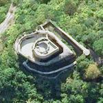 La Roche-Guyon castle (Bing Maps)