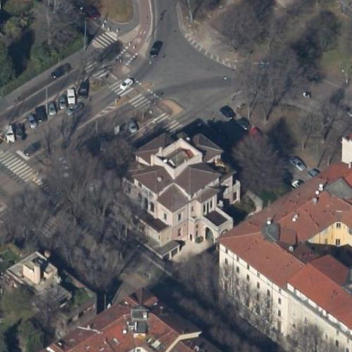 silvio berlusconi u0026 39 s house in milan  italy  google maps    3
