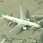 Green Eco Jet B777 (Birds Eye)