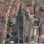 Ulm Minster (tallest church in the world) (Bing Maps)