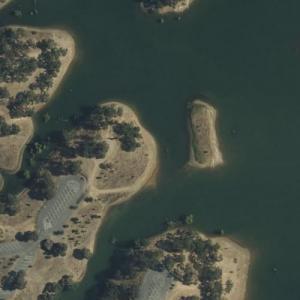 Zodiac Killer - Lake Berryessa attack (Bing Maps)