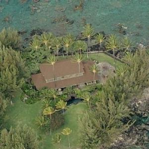 Neil Young's former Hawaii Home (Bing Maps)