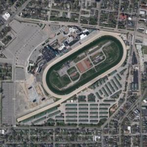 Churchill Downs (Bing Maps)